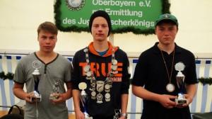Im Bild von links nach rechts: Florian Pelkermüller, Florian Wegner, Leonhard Eibl.