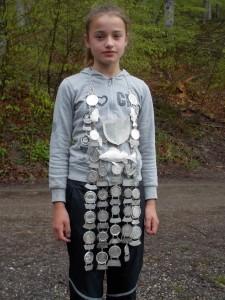 Jungfischerkönigin 2014 Dorothea Ryba aus Krottenhil